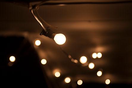 Festoon lights Cape Town