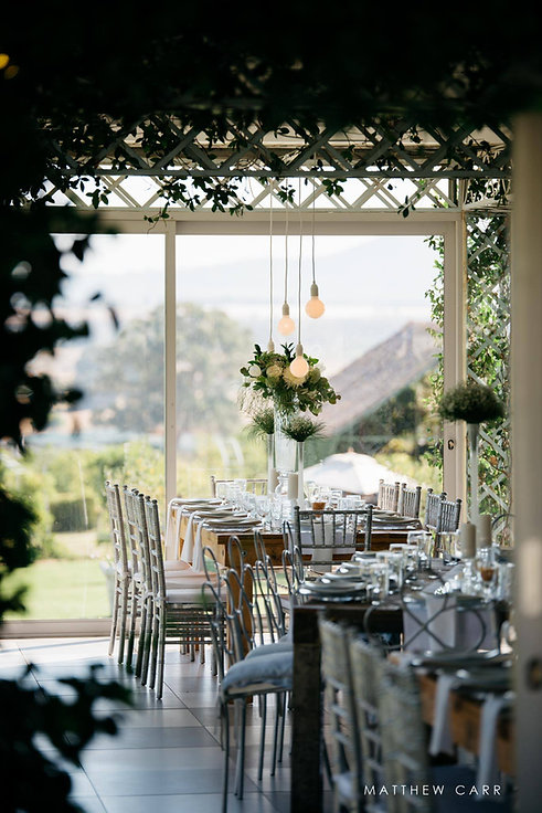 Belair Paarl wedding decor