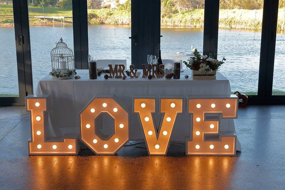 Love sign hire Cape Town