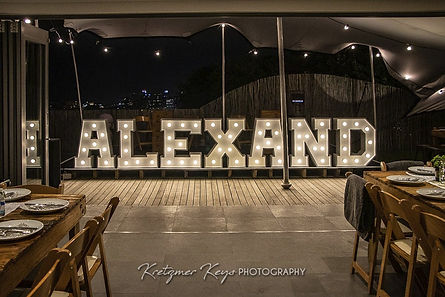 Marquee Light Letters Cape Town