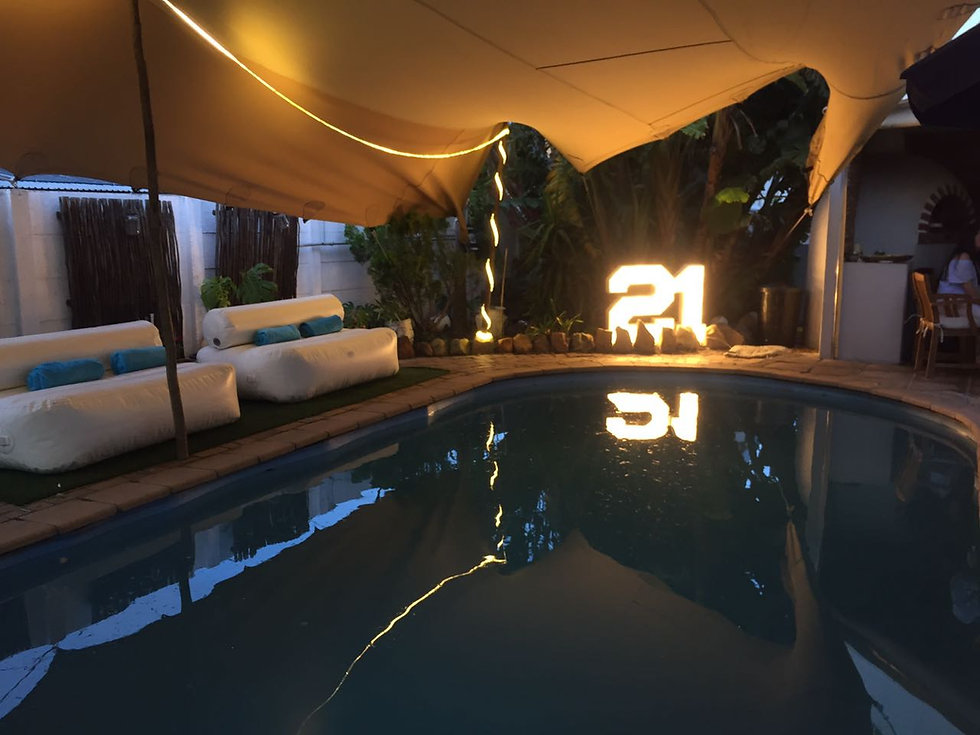 21 sign hire Cape Town
