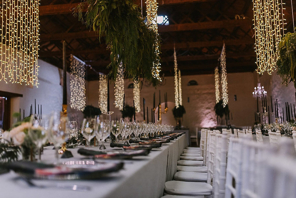 Nooitgedacht wedding decor