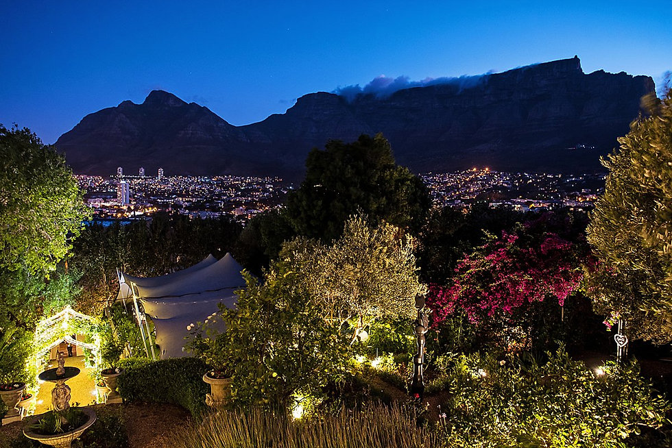 Cape Town lighting hire