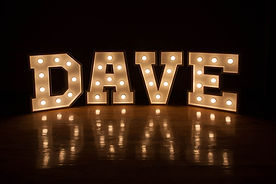 Cape Town Marquee letters