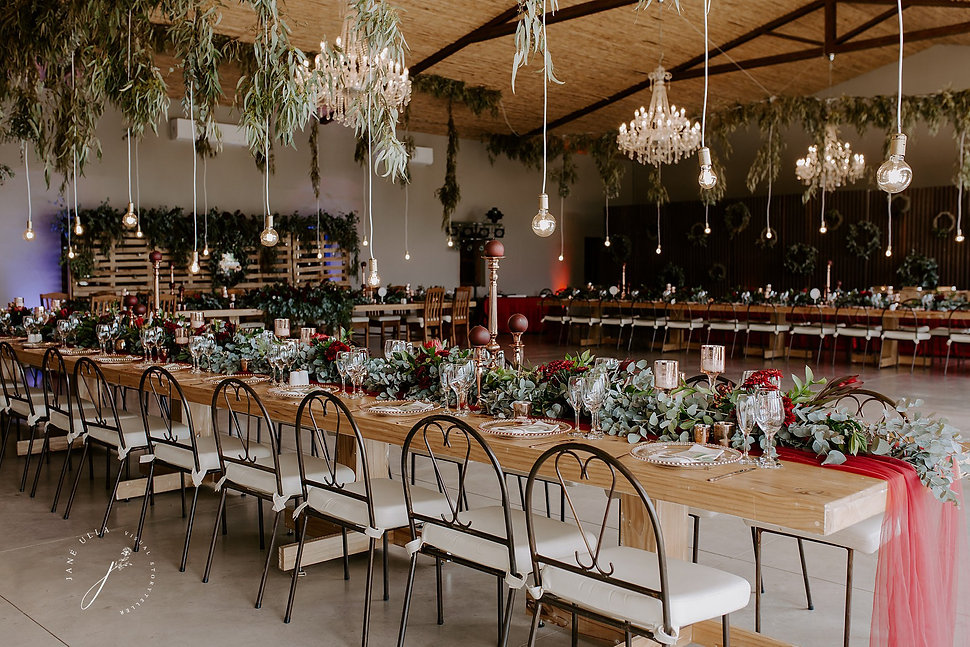 Kaleo wedding decor