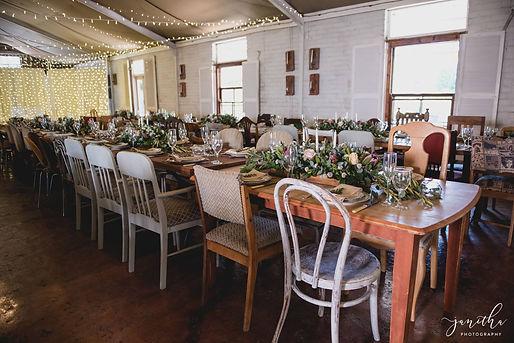 Damarakloof wedding decor