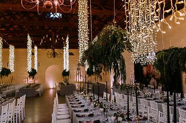 Nooitgedacht wedding lighting