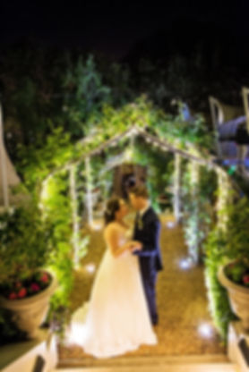 fairy lights weddings Cape Town