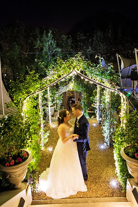 Event lighting suppliers Cape Town