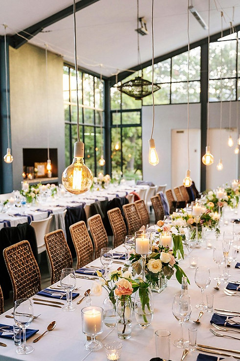 The Conservatory Franschhoek wedding lights