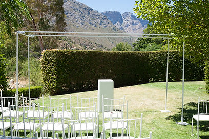 chuppah to hire Cape Town