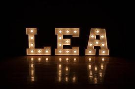 Letter Lights Cape Town