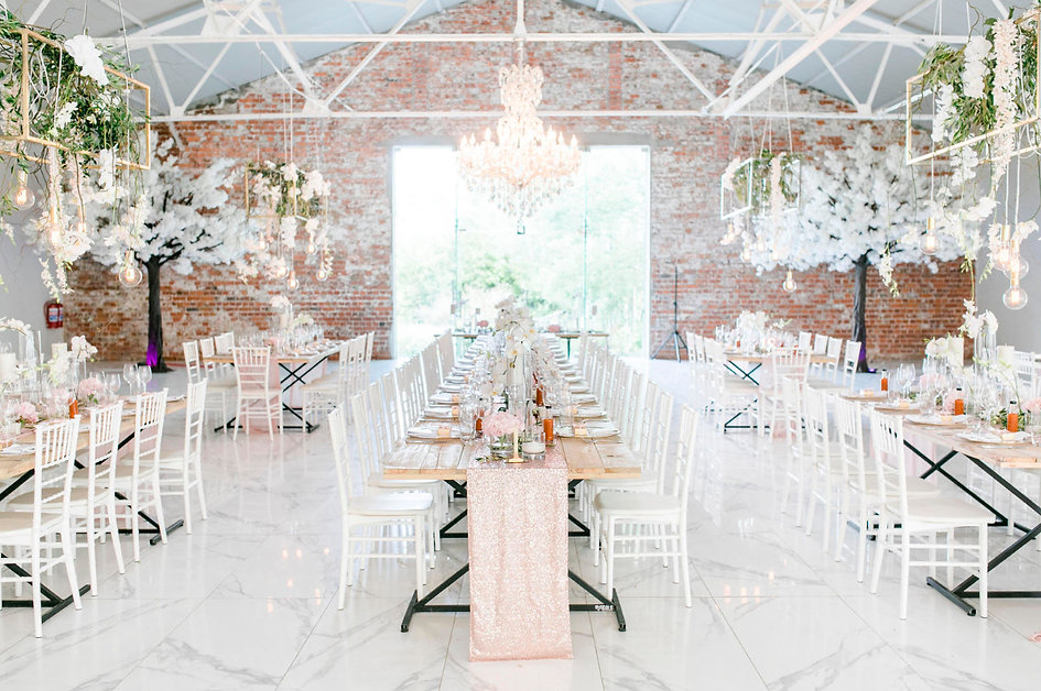 La Paris Franschhoek wedding decor