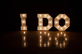 I do marquee letters cape town