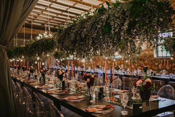 Edison globes wedding Cape Town