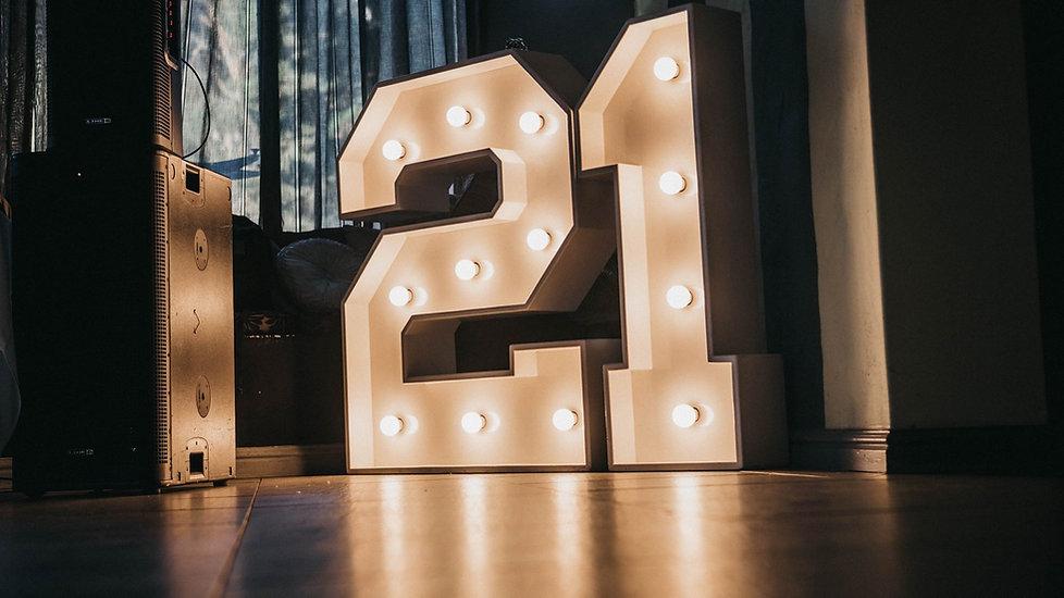 21 lights Cape Town