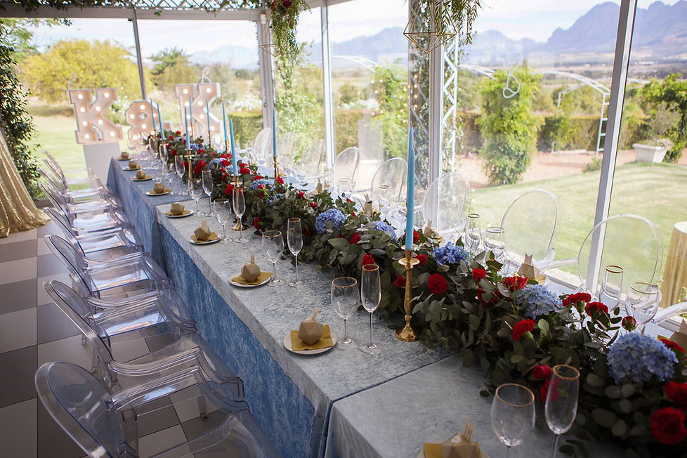 Belair wedding decor
