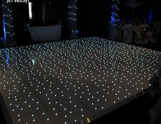 dancefloor with lights Cape Town