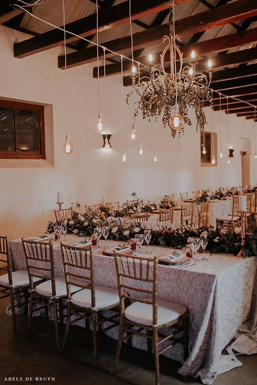 Ou Stal Wedding decor