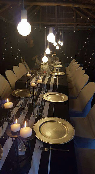 Events lighting Cape Town