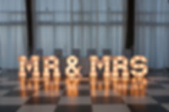 Mr & Mrs sign Cape Town