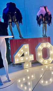 40 number lights Cape Town