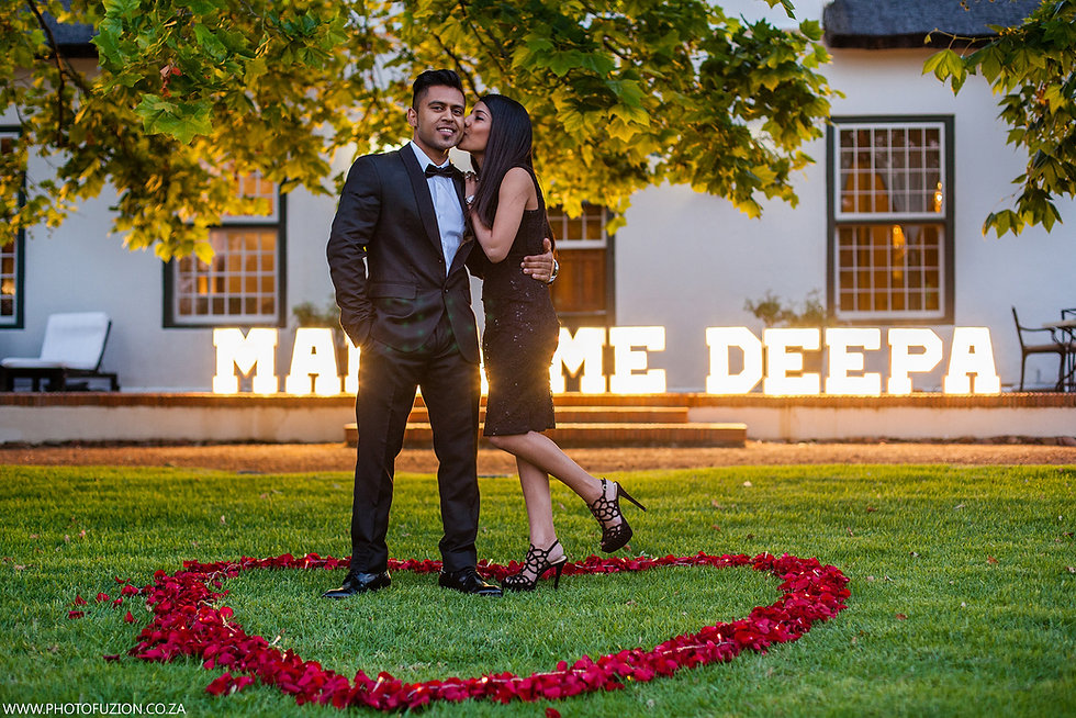 Marquee letters hire Cape Town