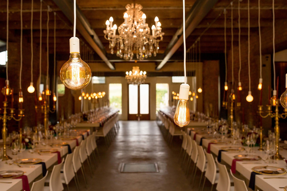 401 Rozendal wedding decor