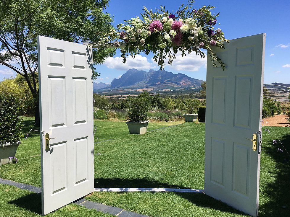 Wooden doors to rent Cape Town