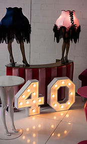 40 Marquee lights Cape Town