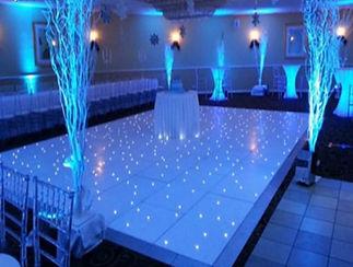LED dance floor hire Cape Town