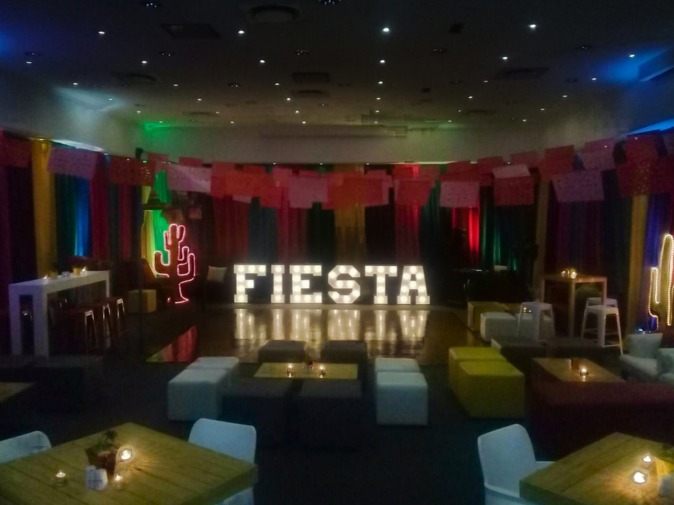 Event lighting Cape Town