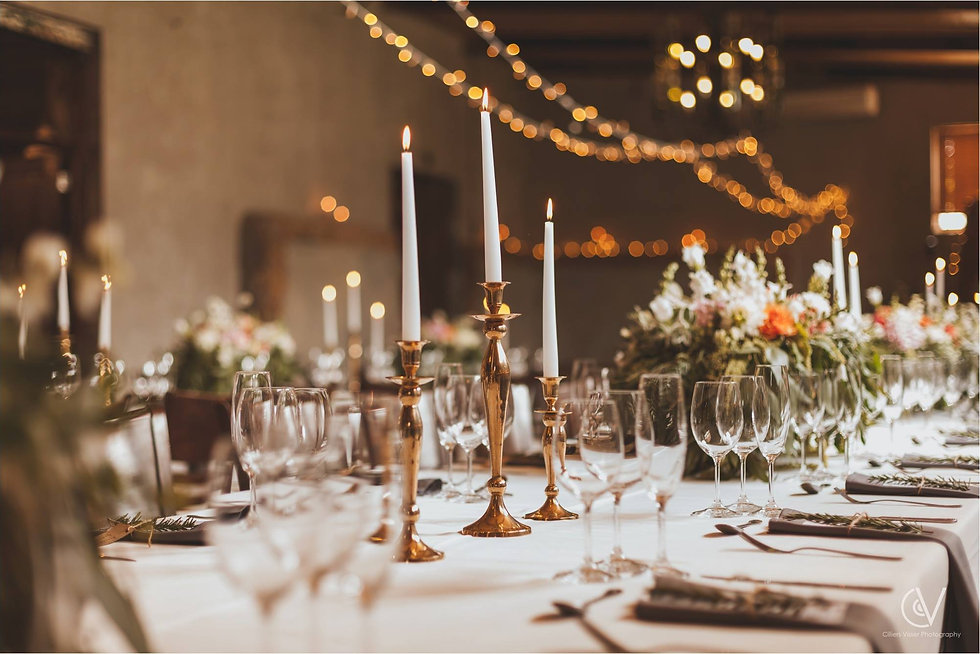 Fairy light hire Cape Town