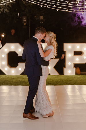Marquee lights wedding Cape Town