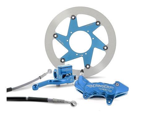 "Kit freinage BERINGER Top Race roue 17"" étrier radial 4 pistons bleu YZ/F/X"