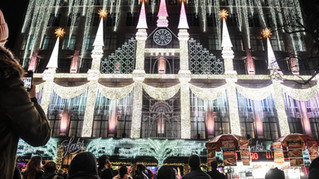 Saks 5th Ave Holiday Lightshow 2020