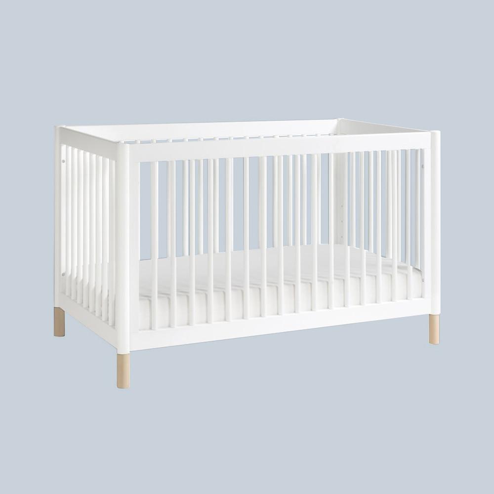 White Gelato 3-in-1 Convertible Crib