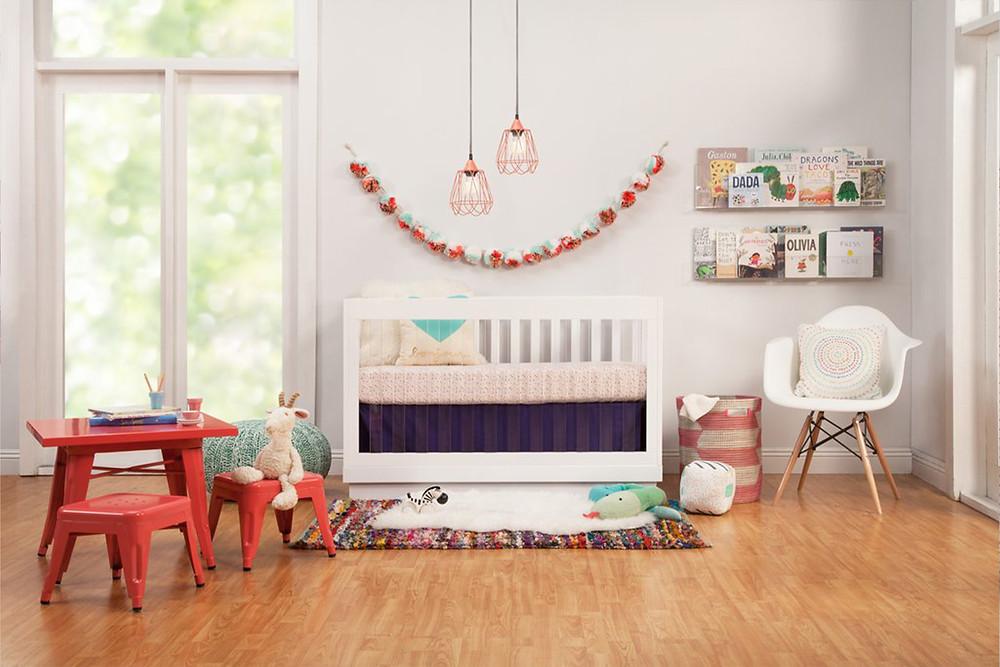 Babyletto Harlow Acrylic convertible crib