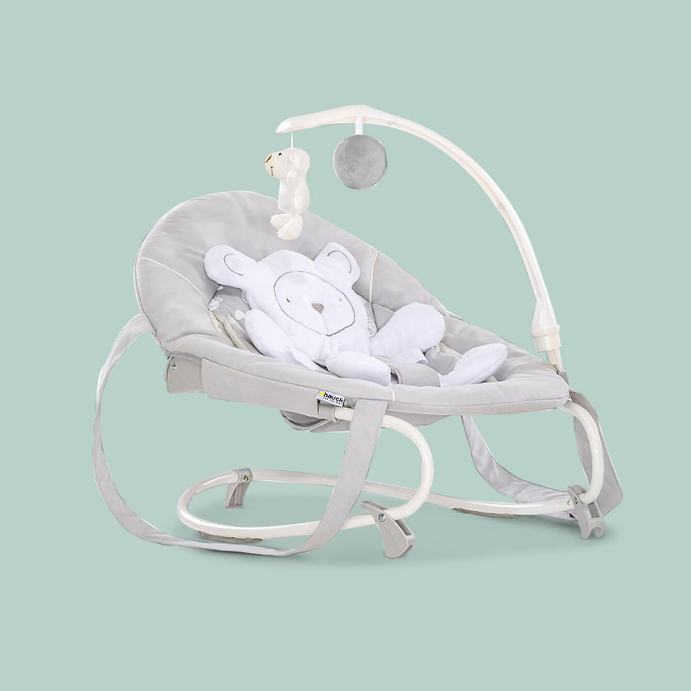 Hauck's Leisure Ergonomic baby bouncer and rocker