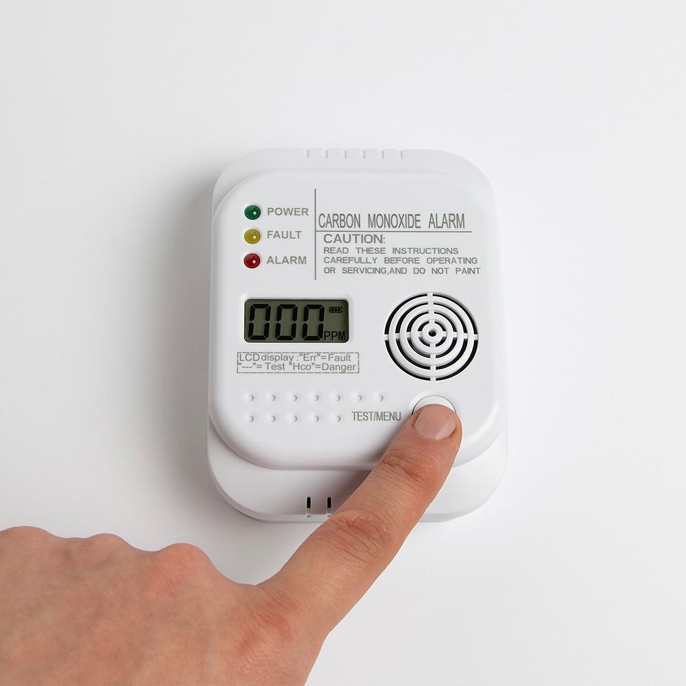 carbon monoxide detector at home
