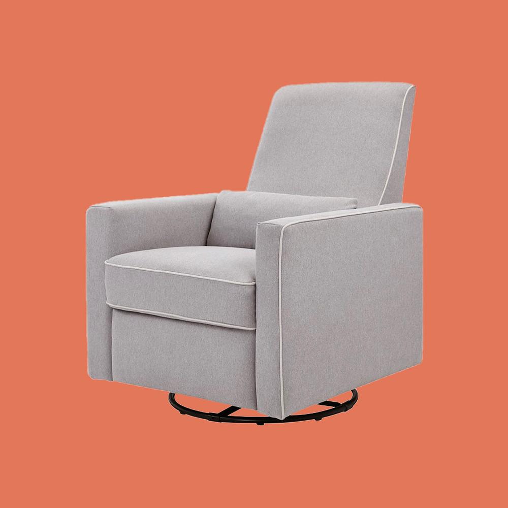 Davinci baby Piper Recliner and Swivel Glider nursing chair