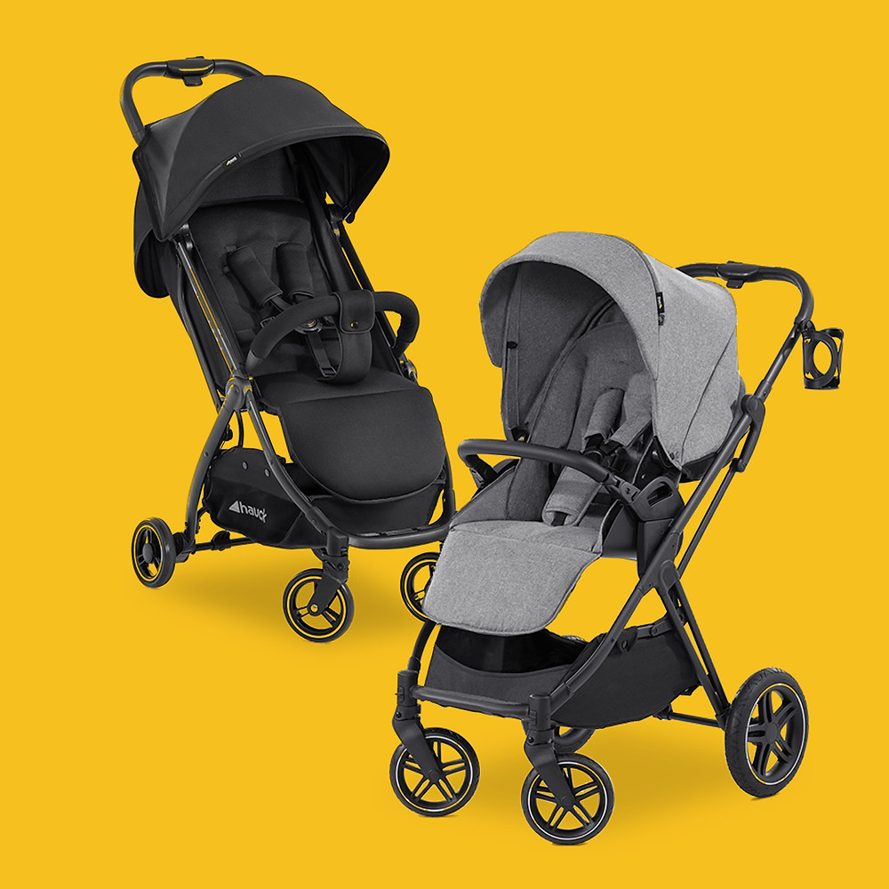 Hauck's Swift X and Vision X Strollers