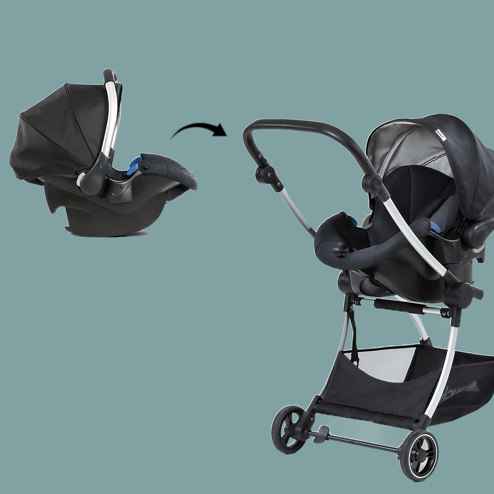 hauck car seat convertible to stroller