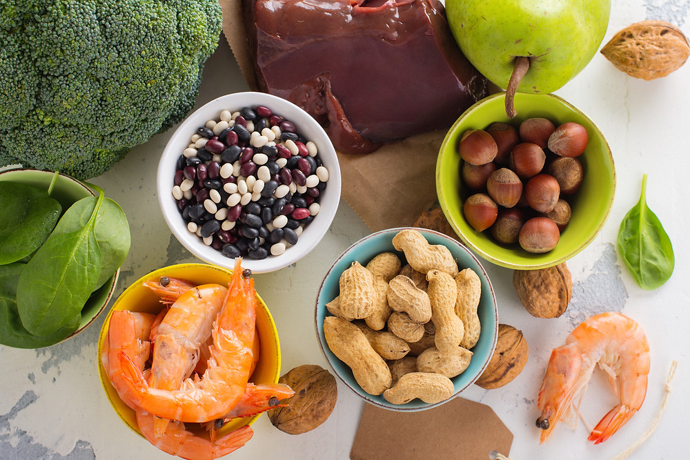 Foods that are good for breastfeeding rich in folic acid