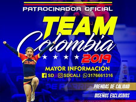 ¡El Patrocinador Oficial de la Selección Colombiana de Porrismo llegó con lo mejor!
