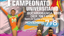 ¡1er Torneo Nacional Universitario de Porrismo!