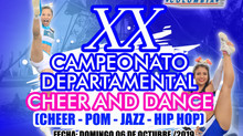 [AVALADO] XX Campeonato Departamental Cheer & Dance