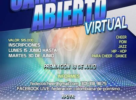 ¡Campeonato Abierto Virtual!