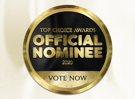 Official 2020 Top Choice Award Nominee for Best Permanent Makeup Clinic