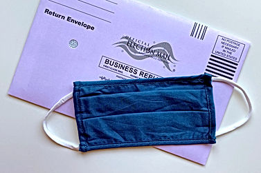 An American envelope and a mask